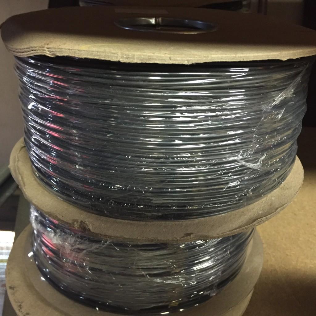 Cable Flexible, Black 0.75 H05V-K, 2491X