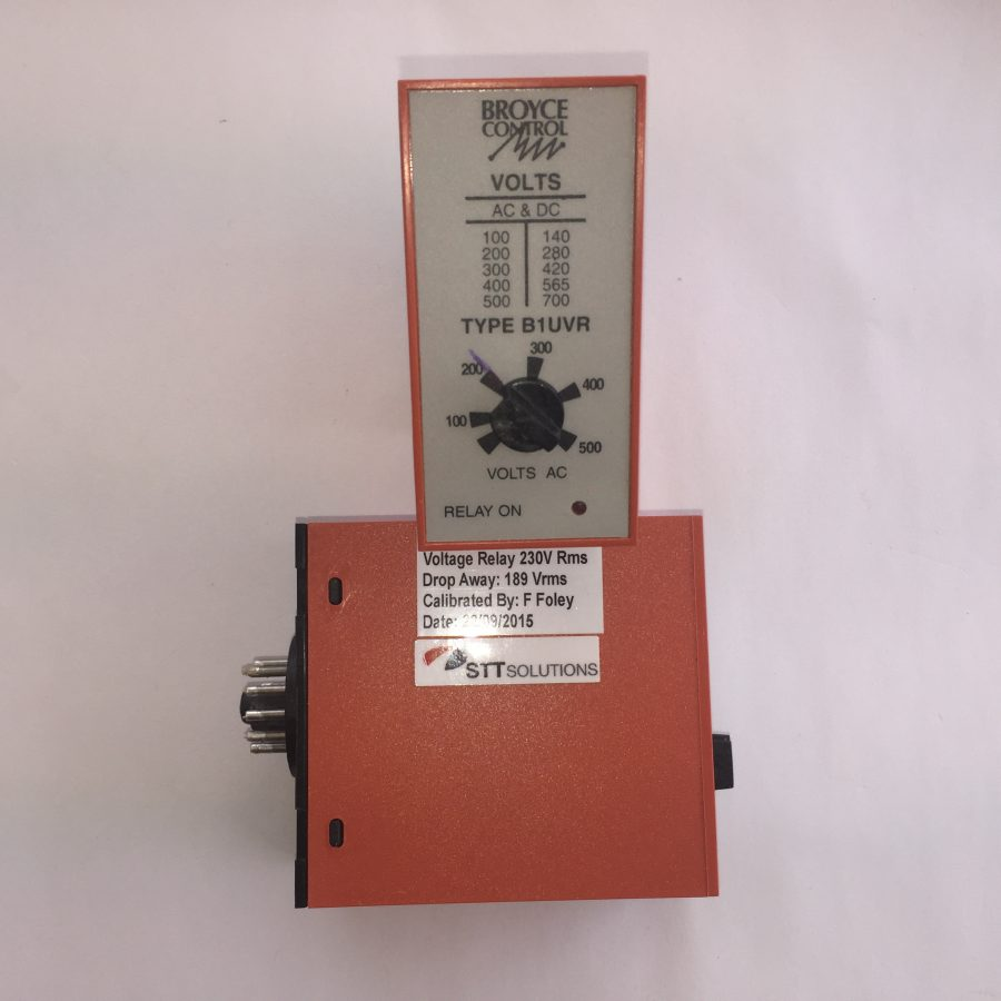 Voltage Relay 230V 11 Pin Base Mounting