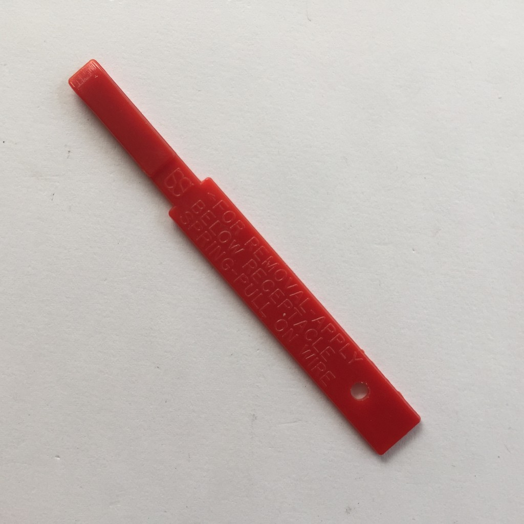 Red PN Crimp Extractor Tool